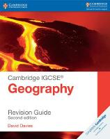 Cambridge IGCSE (R) Geography Revision Guide by David Davies