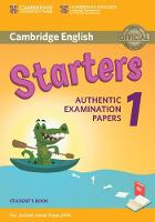 Cambridge English Starters 1 for Revised Exam from 2018 Student's Book Authentic Examination Papers by
