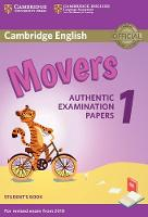 Cambridge English Movers 1 for Revised Exam from 2018 Student's Book Authentic Examination Papers by