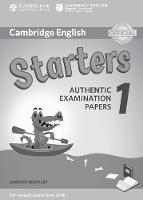 Cambridge English Starters 1 for Revised Exam from 2018 Answer Booklet Authentic Examination Papers by