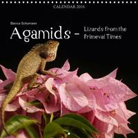 Agamids - Lizards from the Primeval Times Photos of Oriental Garden Lizards in Their Natural Habitat by Bianca Schumann