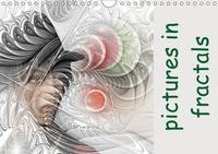 Pictures in Fractals 2017 A Monthly Calendar with Pictures Integrated in Flames by IssaBild