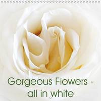Gorgeous Flowers - All in White 2017 Beautiful White Blossoms That Touch the Heart and Soul by Art-Motiva
