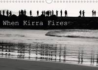 When Kirra Fires 2017 Black and White Imagery of Kirra Surf Pumping. by Jill Robb