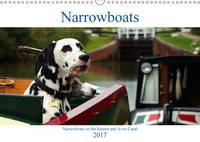 Narrowboats 2017 Narrowboats on the Kennet and Avon Canal by Terry Hewlett