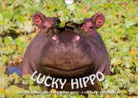 Emotional Moments: Lucky Hippo / UK-Version 2018 Hippos in Their Natural Habitat - a Calendar of Ingo Gerlach Gdt by Ingo Gerlach GDT