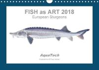 Fish as Art 2018 European Sturgeons 2018 13 Scientific Colour Illustrations by Paul Vecsei