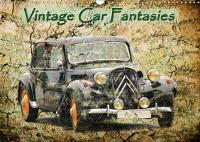 Vintage Car Fantasies 2018 Oldtimers from Different Decades in Front of Conspicuous Backgrounds by Michael Jaeger
