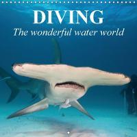 Diving - the Wonderful Water World 2018 Adventures in the Dark Blue Sea by Elisabeth Stanzer