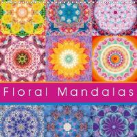 Floral Mandala 2018 Energetic Mandalas from Flower Photographs by Alaya Gadeh