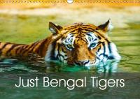 Just Bengal Tigers 2018 Magical Bengal Tigers Both Yellow and White with Stripes by Dalyn