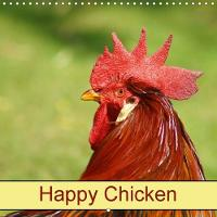 Happy Chicken 2018 Farm Animals and Birds by Kattobello