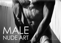 Male Nude Art 2018 Stylish Men - Nude Art in an Aesthetic Abstraction of Lines and Bodies by Ulrich Allgaier