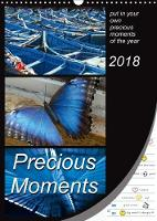 Precious Moments - Put in Your Own Precious Moments 2018 Precious Moments - Collect Your Own Special Moments of the Year. Enjoy 12 Wonderful Colour Combinations Which Will Lead You Through the Whole Y by Mowaru