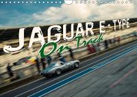 Jaguar E-Type - on Track 2018 Jaguar E-Type Race Cars on the Race Track by Johann Hinrichs