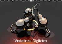Variations Digitales 2018 Creations Multiples D'objets Numerises. by Redinard