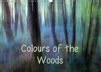 Colours of the Woods 2018 Abstract Woodland Photography with Enhanced Natural Colours by Andrew Kearton