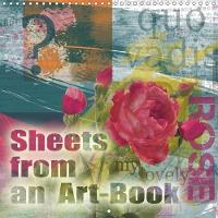Sheets from an Art-Book 2018 A Calendar, Quite Like a Diary by Christine B-B Muller