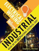 Electrical Wiring Industrial by Stephen L. Herman