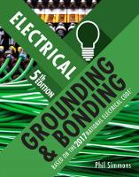Electrical Grounding and Bonding by Phil (Simmons Electrical Services) Simmons