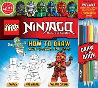 LEGO NINJAGO: How to Draw Ninja, Villains and More by Pat Murphy
