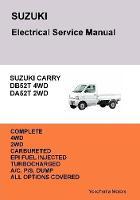 Suzuki Carry Truck Electrical Service Manual Db52t Da52t by James Danko