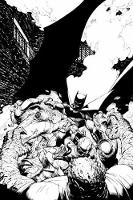 Batman In The Court Of Owls An Adult Coloring Book by Scott Snyder