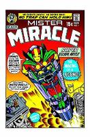 Mister Miracle By Jack Kirby (New Edition) by Jack Kirby
