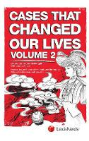 Cases That Changed Our Lives by Ian McDougall, James Wilson, Sir Roger John Laugharne Thomas