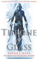Cover for Throne of Glass by Sarah J. Maas