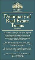Dictionary of Real Estate Terms by Jack P. Friedman