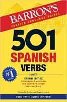 501 Spanish Verbs by Christopher Kendris, Theodore Kendris