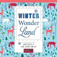 Winter Wonderland Wintry Quotes to Color, Decorate and Give by Arsedition