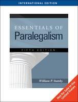 Essentials of Paralegalism by William P. Statsky