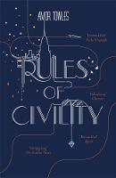 Cover for Rules of Civility by Amor Towles