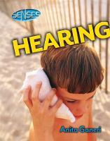 Hearing by Anita Ganeri