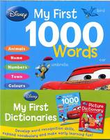 Disney Picture Dictionary & First 1000 Words Books by