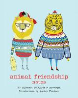 Animal Friendship Notes 20 Different Notecards & Envelopes by Ashley Percival