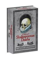 Great Shakespearean Deaths Card Game by Chris Riddell