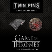 Game of Thrones Twin Pins Two Enamel Pins by Chronicle Books