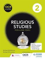 OCR Religious Studies A Level Year 2 by Michael Wilkinson, Michael Wilcockson