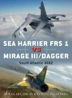 Sea Harrier FRS 1 vs Mirage III/Dagger South Atlantic 1982 by Doug Dildy, Pablo Calcaterra