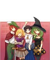 Princess Hero School by Kuro