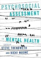 Psychosocial Assessment in Mental Health by Steve Trenoweth