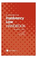 Butterworths Insolvency Law Handbook by Glen Davis