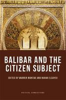 Balibar and the Citizen Subject by Warren Montag