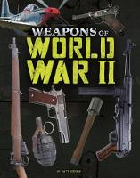 Weapons of War Pack A of 2 by Matt Doeden