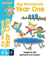 Gold Stars Big Workbook Year One Ages 5-6 Key Stage 1 Supports the National Curriculum by Nina Filipek