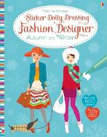 Sticker Dolly Dressing Fashion Designer Autumn and Winter Collection by Fiona Watt