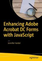 Enhancing Adobe Acrobat DC Forms with JavaScript by Jennifer Harder